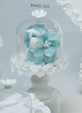 Alzatina porcellana vetro
