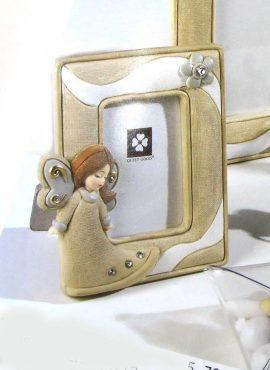 Cornice angelo in resina 9,5X12 cm