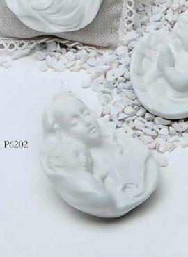 Madonna con bambino in porcellana