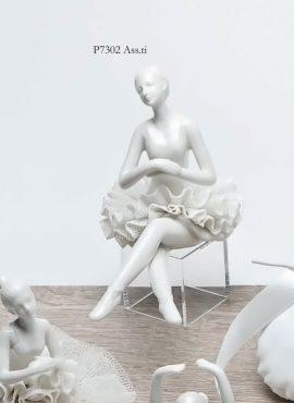Ballerina porcellana grande