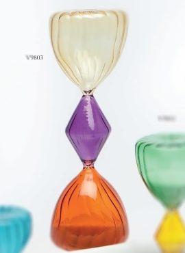 Clessidra vetro colorato