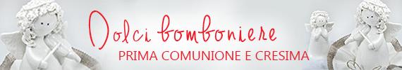 bomboniere - comunione e cresima