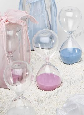 Clessidra vetro 3 minuti piccola