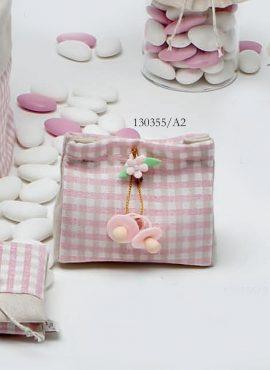 Ciucci con fiorellino su pochette