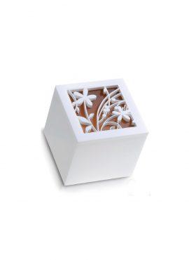 Scatola Cubo Plexi intrecci