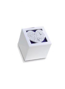 Scatola Cubo Plexi cuore