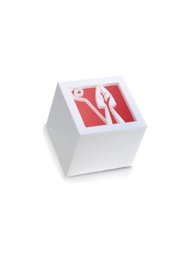 Scatola Cubo Plexi mitra