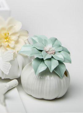 Diffusore piccolo fiore verde