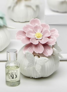Diffusore grande fiore rosa