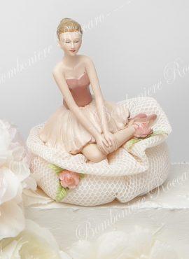 Ballerina porcellana media con sacchetto