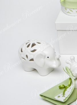 Elefante porcellana