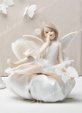 Fatina porcellana sacchetto Farfalle