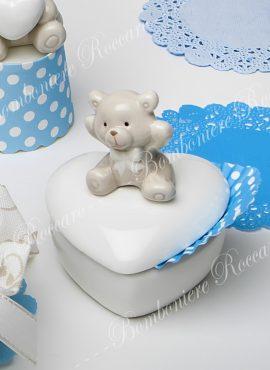 Scatolina porcellana orsetto