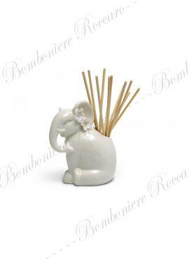 Profumatore Porcellana Elefante