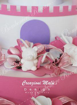 Orsetto gesso bianco con confezione
