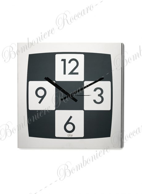 orologio muro scacchi