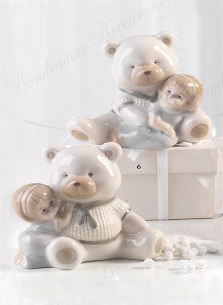 Bomboniera orsetto bambina