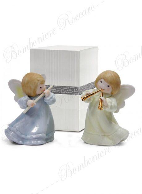 Bomboniera angeli suonatori