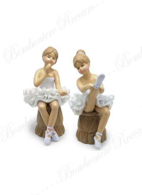 Bomboniera Ballerina tutù seduta